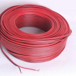 Fil électrique Rouge / Noir