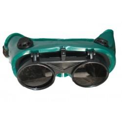 Lunette de Protection pour Soudeur Verte